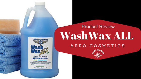 Waterless Wash Wax ALL - Product Review - Always On Liberty