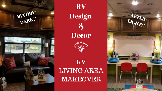 Our 5th Wheel RV Interior Makeover - Always On Liberty