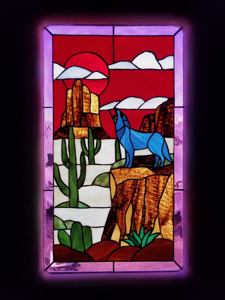 Rv Stained Glass Window Installation Guide Always On Liberty