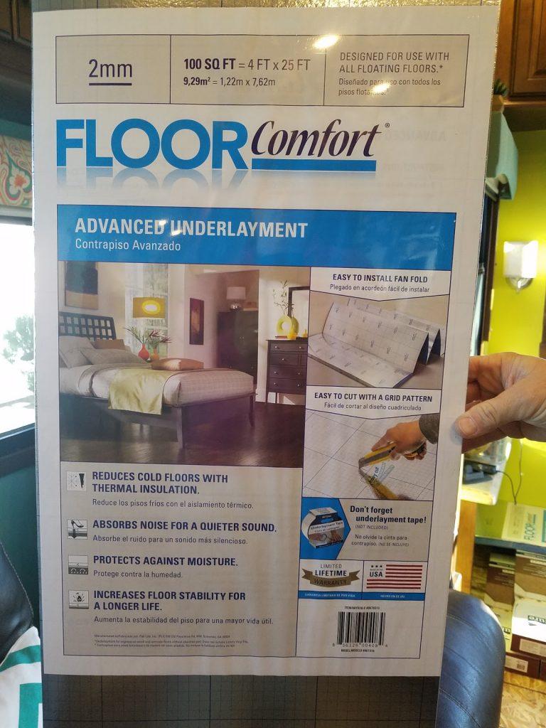 Always On Liberty Flooring Underlayment