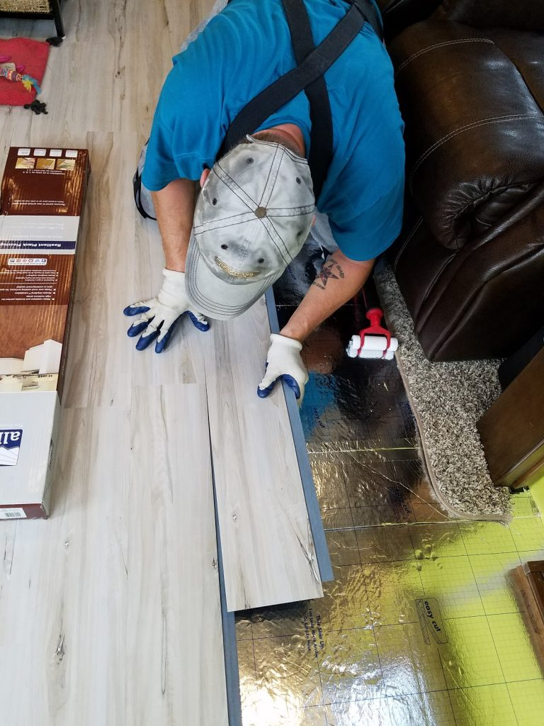 Always On Liberty Flooring Install 1