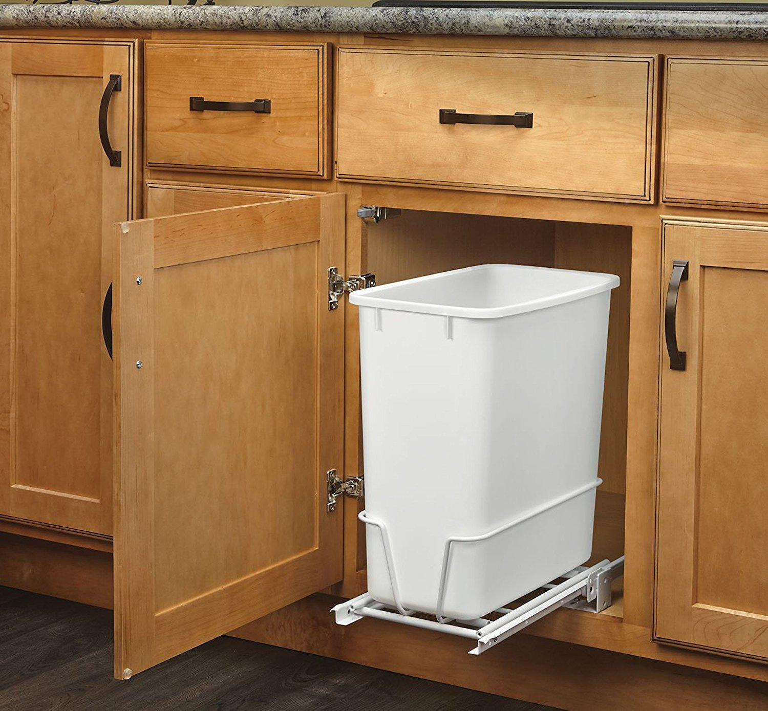 Deep Kitchen Cabinet Solutions: RV Interior Upgrades: Cabinet Storage Solutions