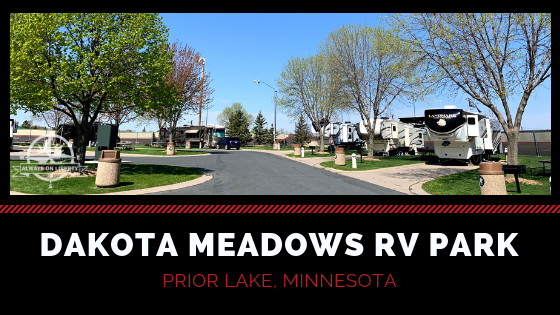 Dakota Meadows RV Park Review Header