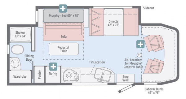 Always On Liberty View Floorplan