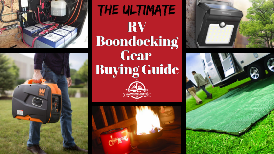 Always On Liberty_ Boondocking Gear Buying Guide