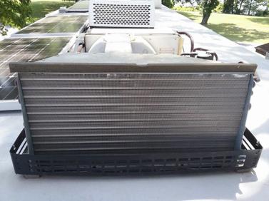 RV AC Remove Cover