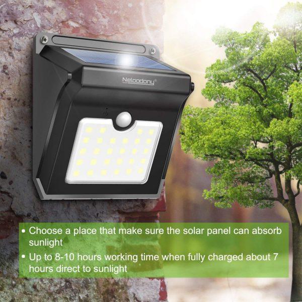 Always On Liberty - Solar Security Light
